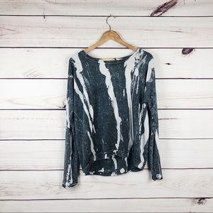 LOVE CULTURE tie dye oversized sweater size M